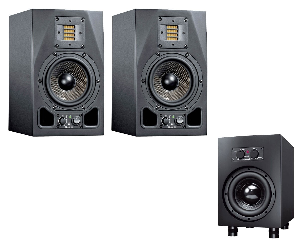 Adam A5X Pair + Sub8 2.1 System