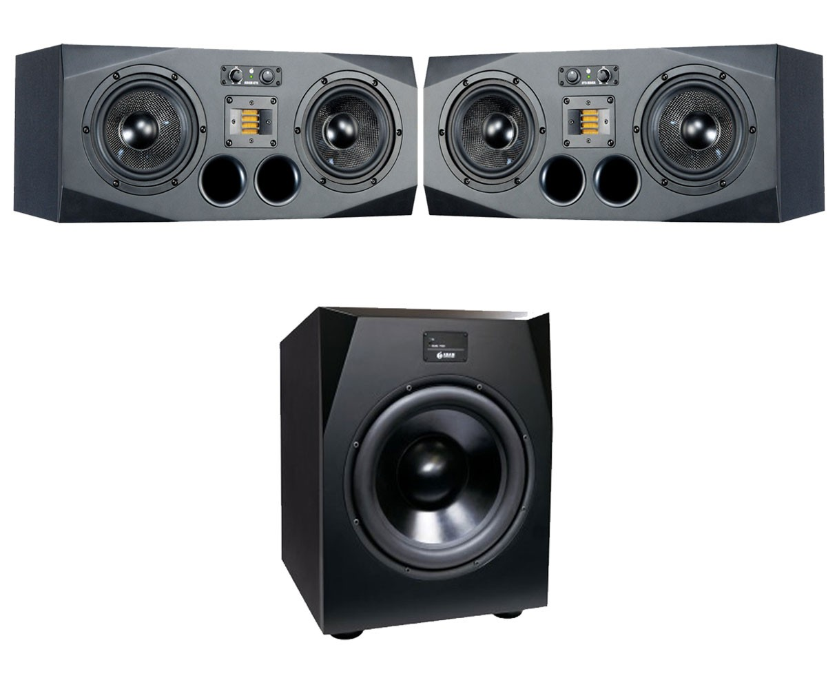 2x ADAM A77X + Sub15 2.1 System