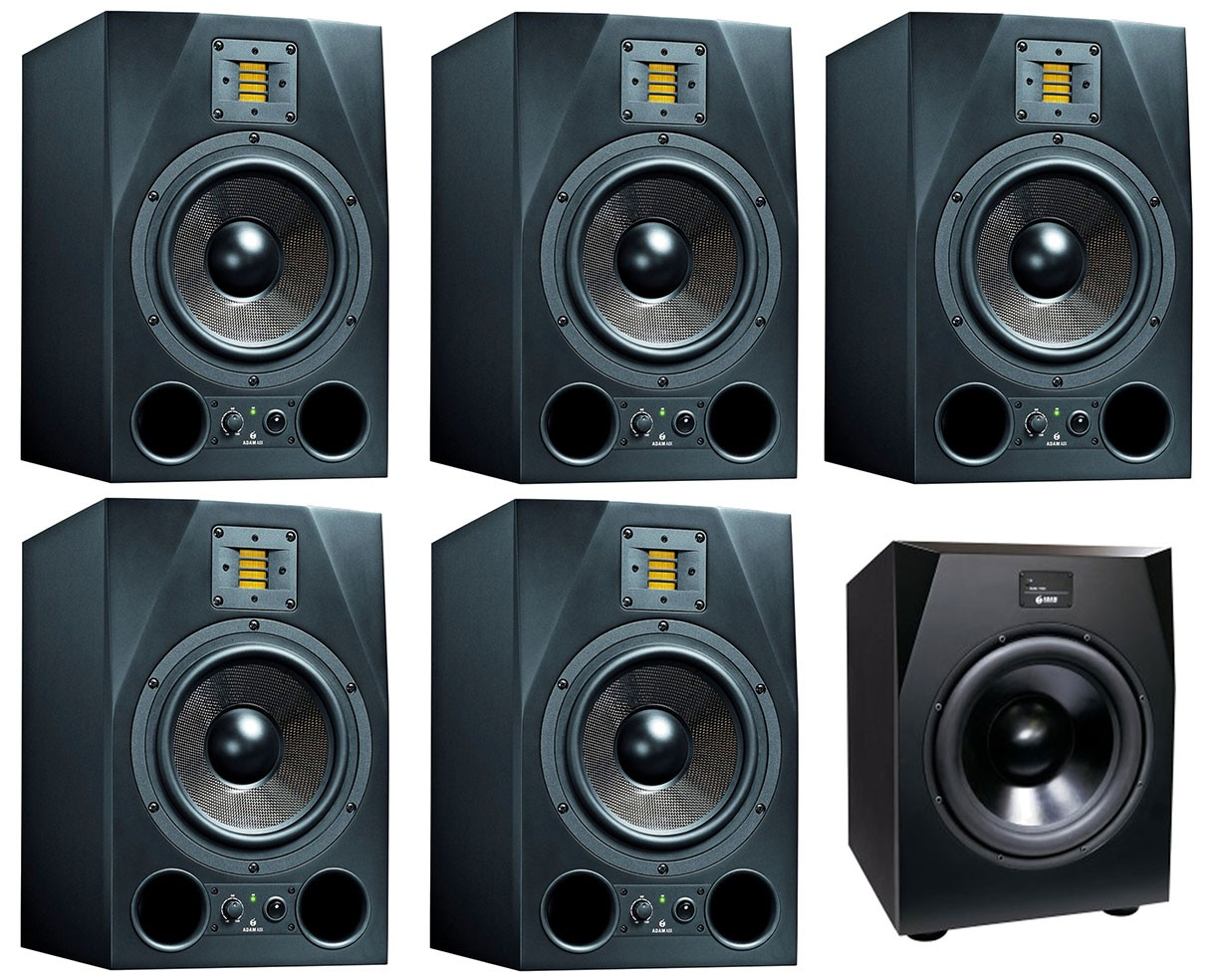 Adam A8X 5.1 System - The Nashville