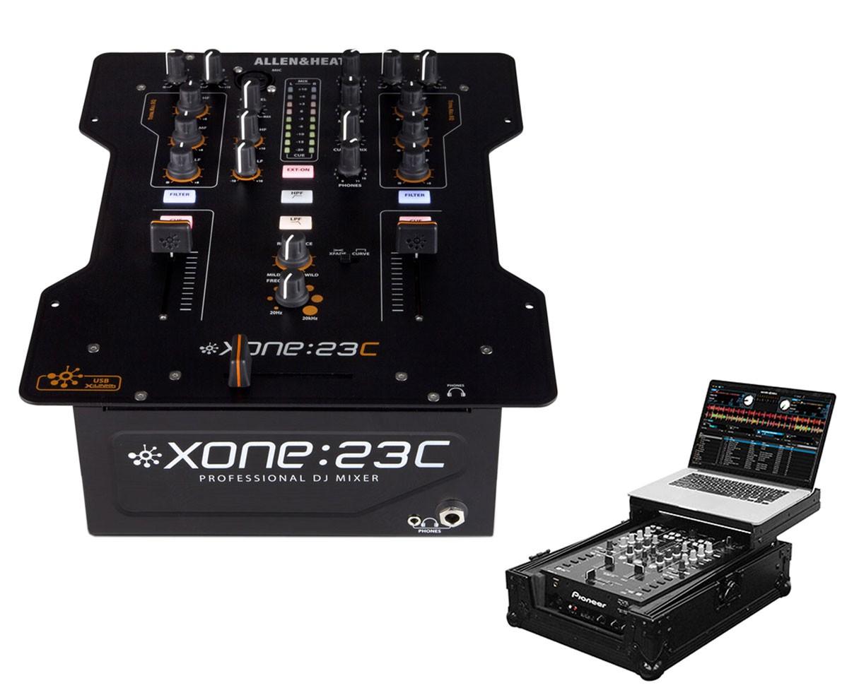 Allen & Heath Xone:23C + Black Label Glide Style Case