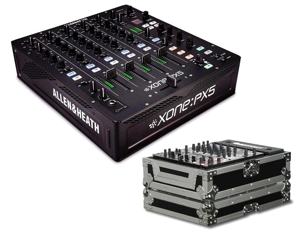 Allen & Heath Xone:PX5 + Odyssey Case