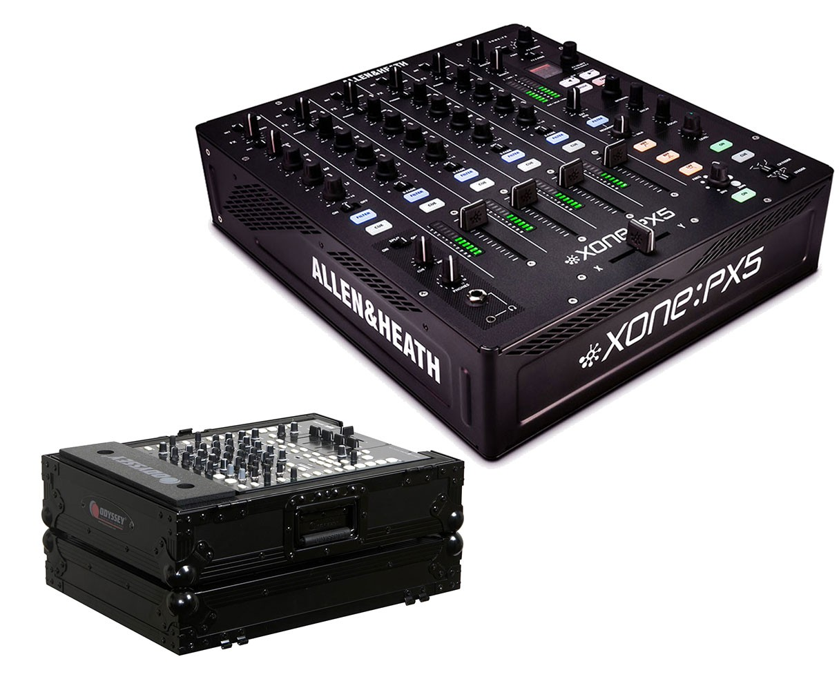 Allen & Heath Xone:PX5 + Odyssey Black Label Case