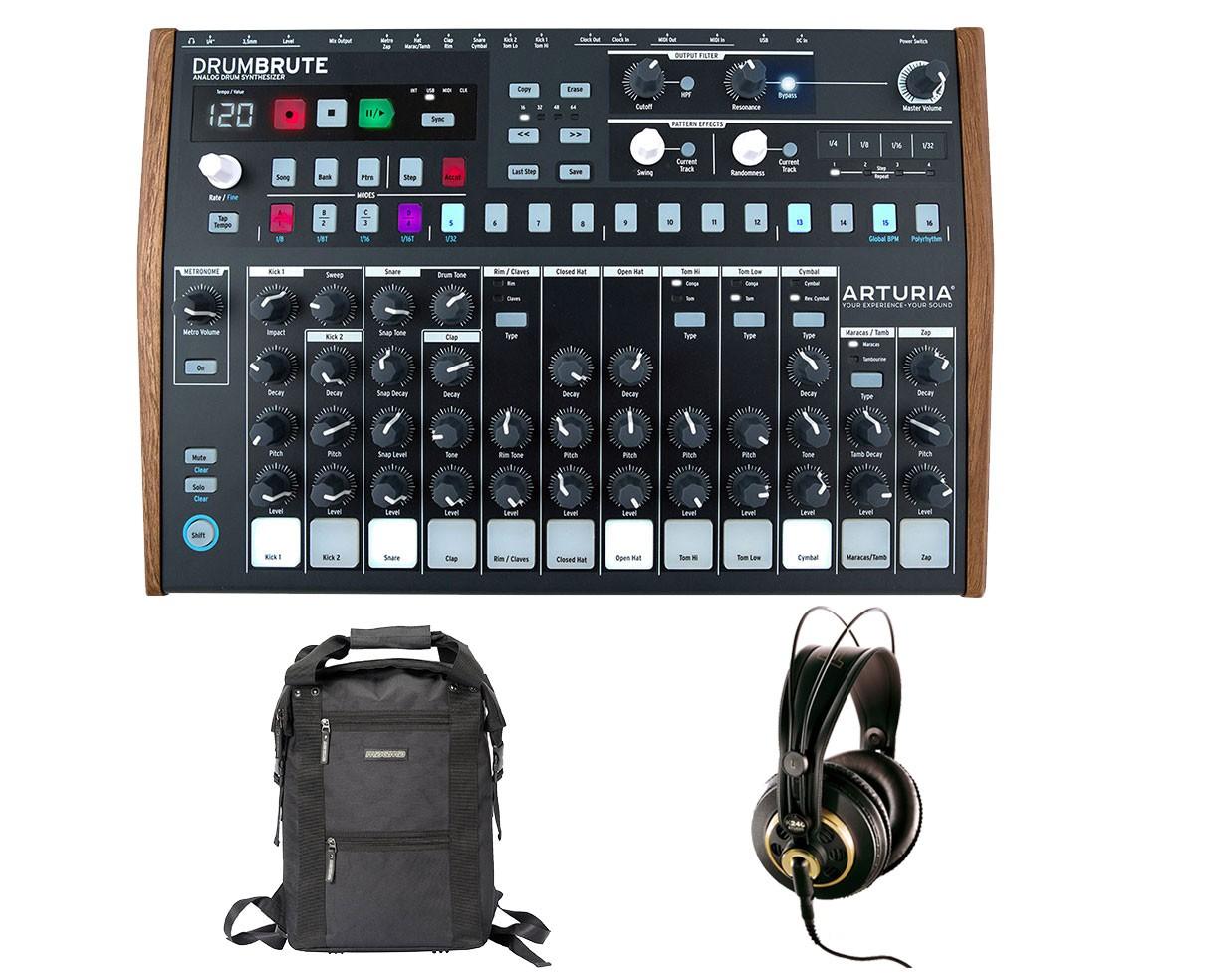 Arturia Drumbrute + AKG K 240 Studio + Bag