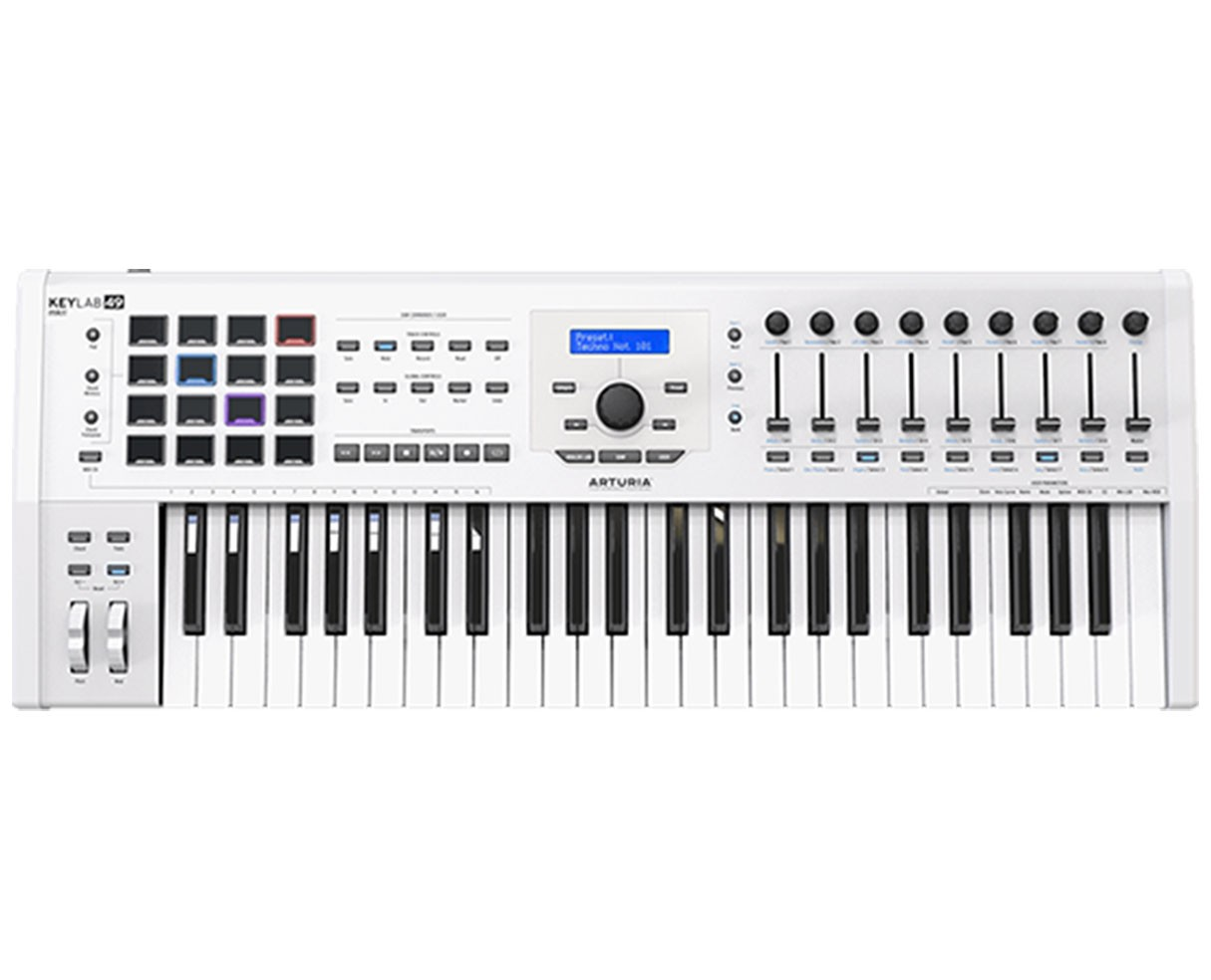 Arturia Keylab 49 MKII White Keyboard Controller