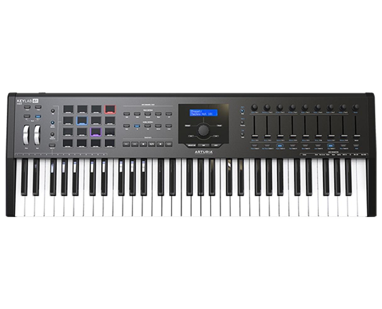 Arturia Keylab 61 MKII Black Keyboard Controller
