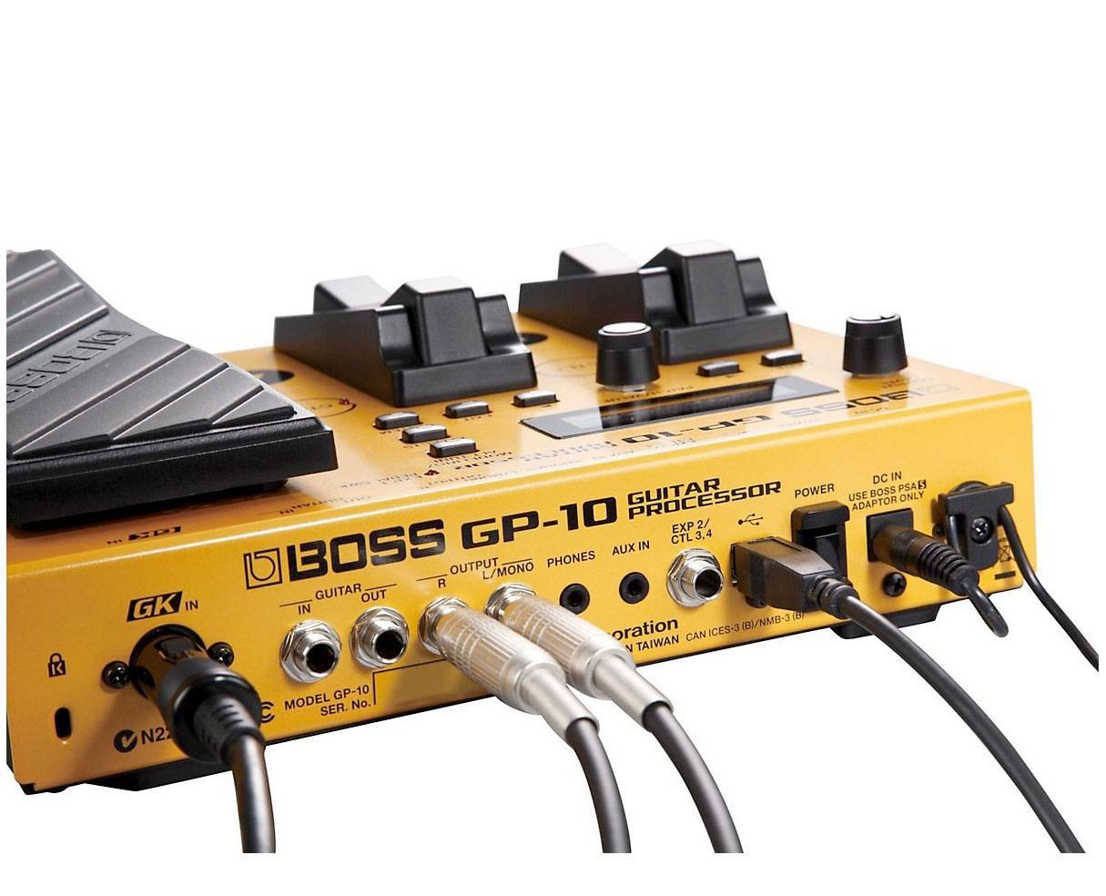 boss gp 10s gp10s usb midi guitar multi fx pedal. Black Bedroom Furniture Sets. Home Design Ideas