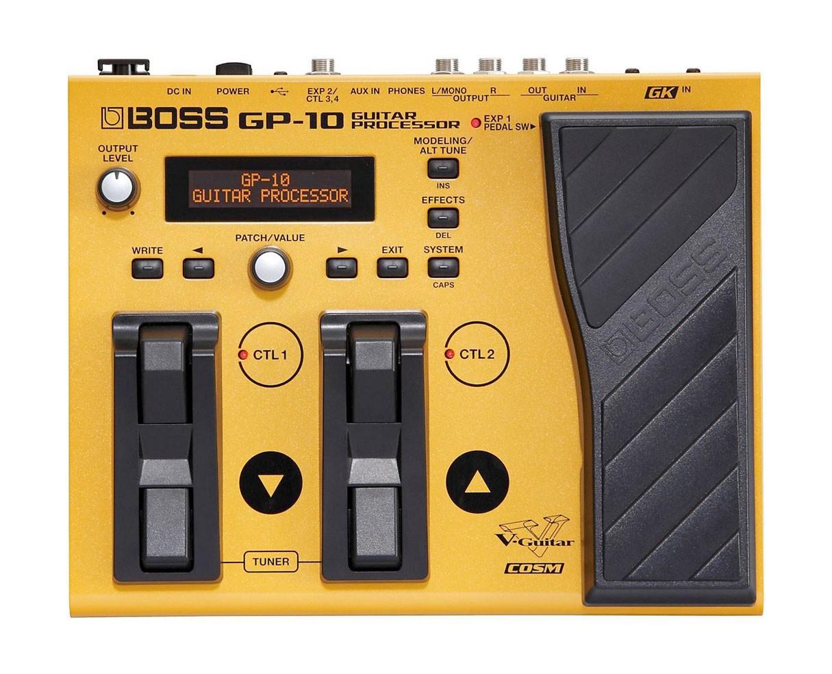 Boss GP-10S GP10S USB MIDI Guitar Multi-FX Pedal