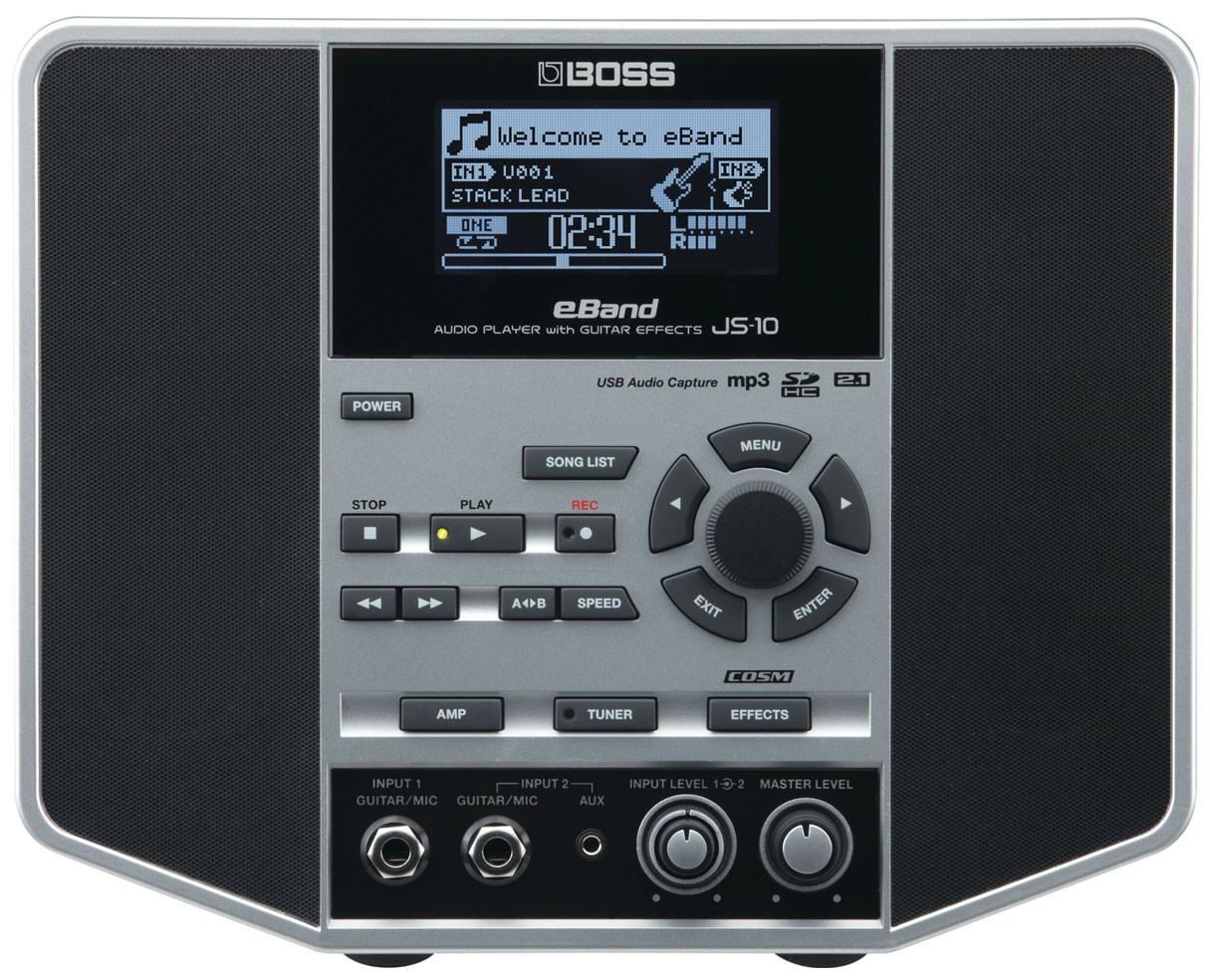 Boss JS-10 eBand JS-10 Audio Player With Guitar Effects B-Stock