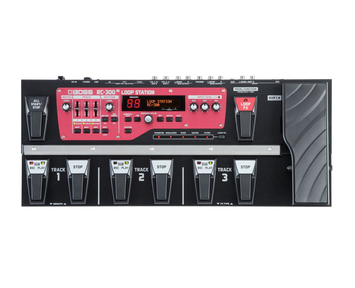 Boss Rc 300 Loop Station Usb Guitar Link Cable Konektor Gitar Black