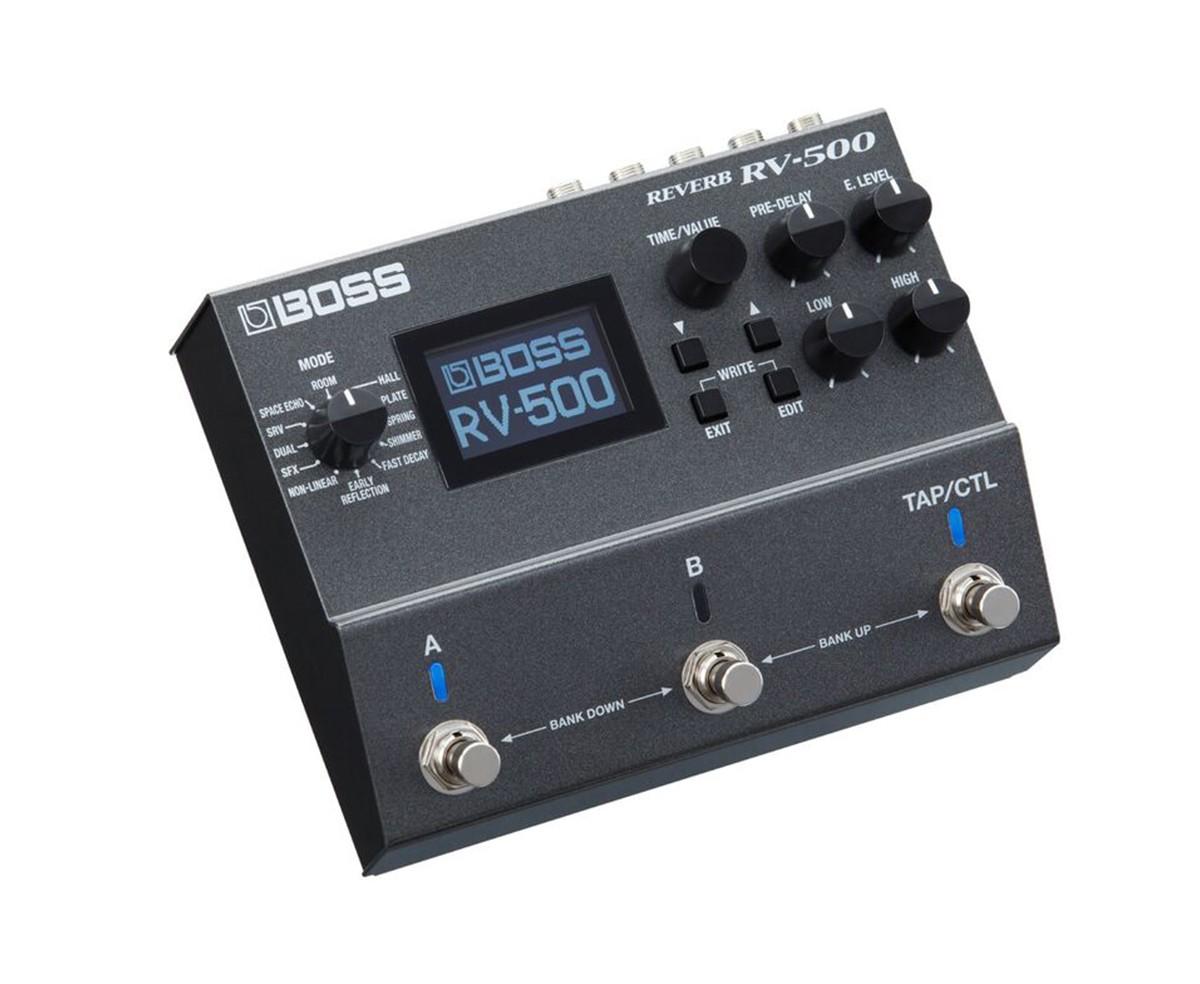 Boss Rv 500 Reverb Effects Pedal