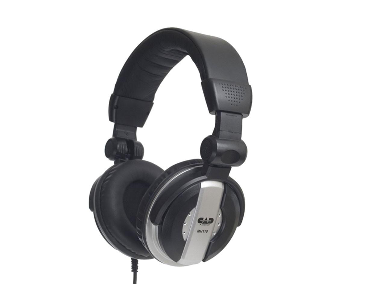 CAD MH110 Closed-back Studio Headphones - 50mm Drivers - Easy-fold Comfort Fit