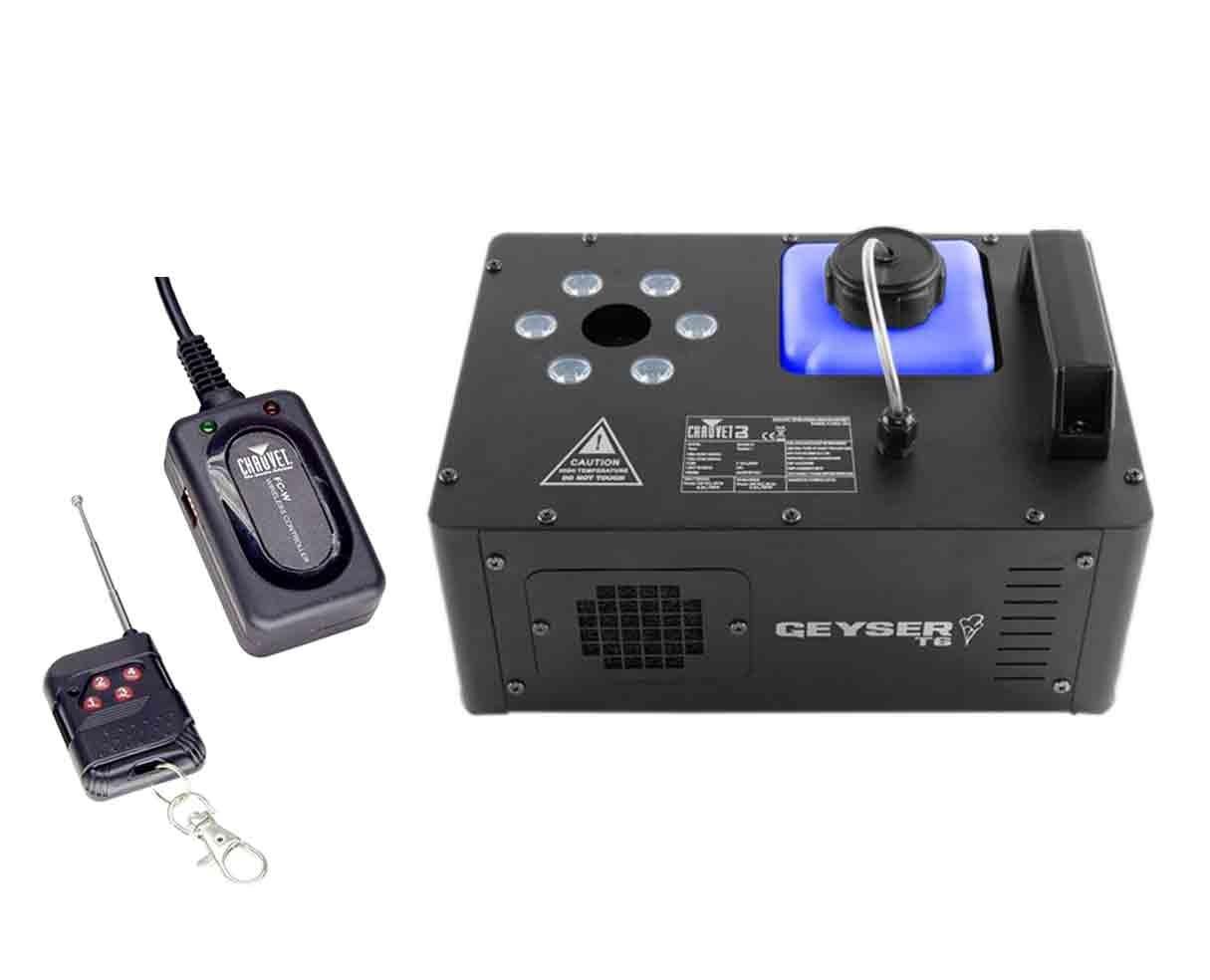 CHAUVET DJ Geyser T6 + FC-W Remote