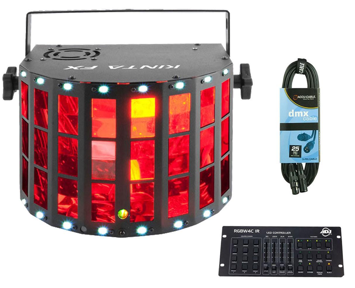 Chauvet Kinta FX + RGBW4C IR + Cable