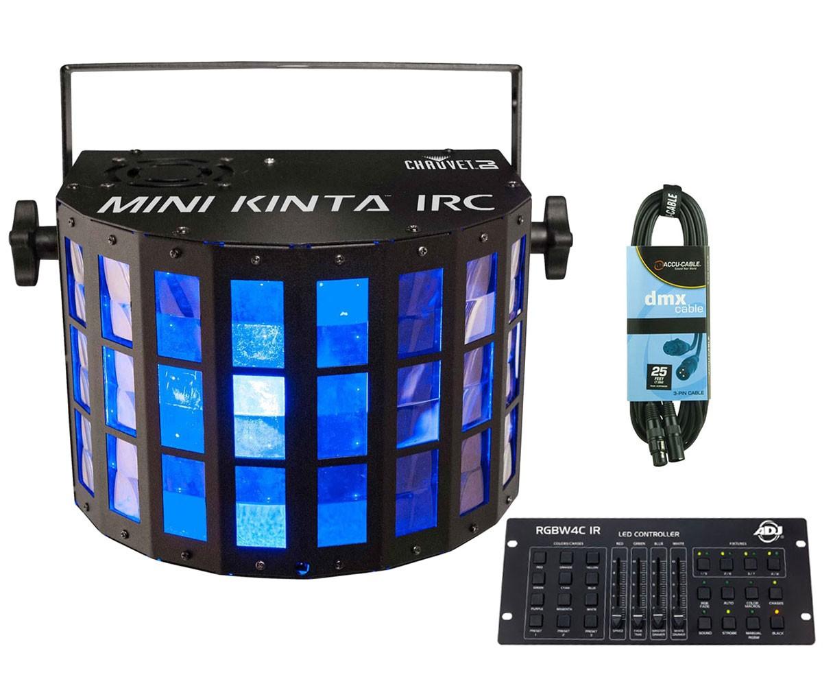 CHAUVET DJ Mini Kinta IRC + RGBW4C IR + Cable