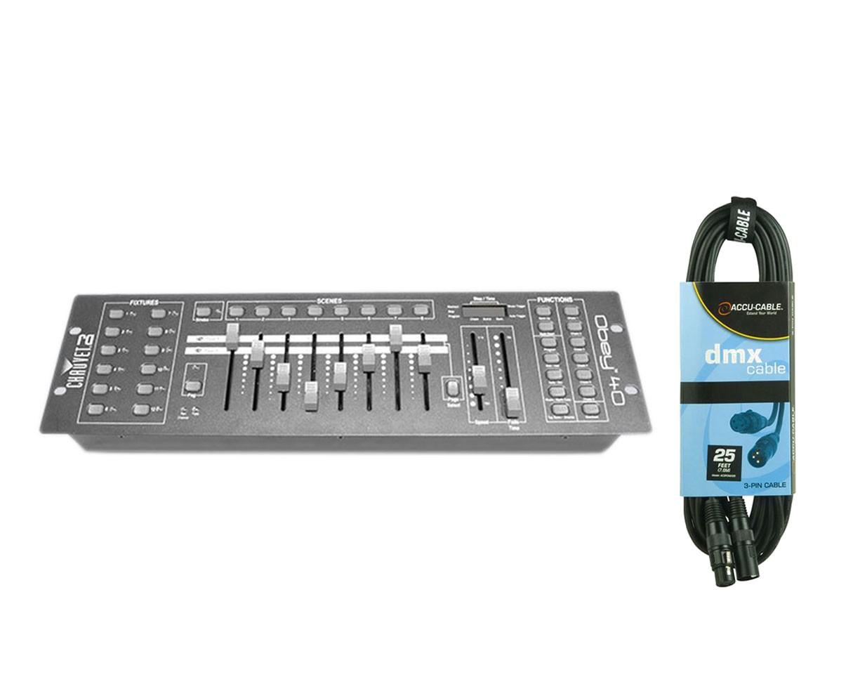 Chauvet Obey 40 + DMX Cable