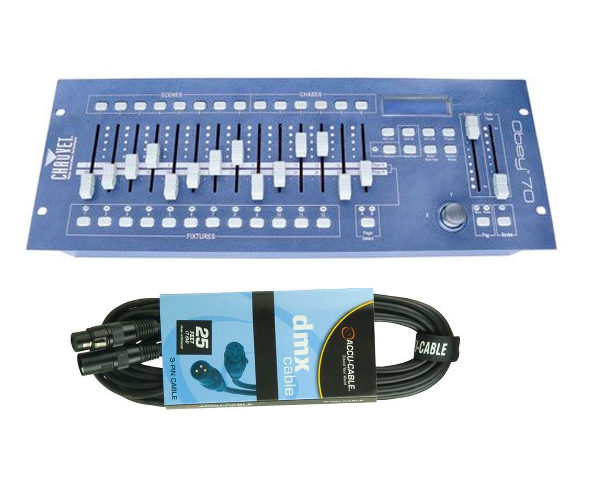 CHAUVET DJ Obey 70 + DMX Cable