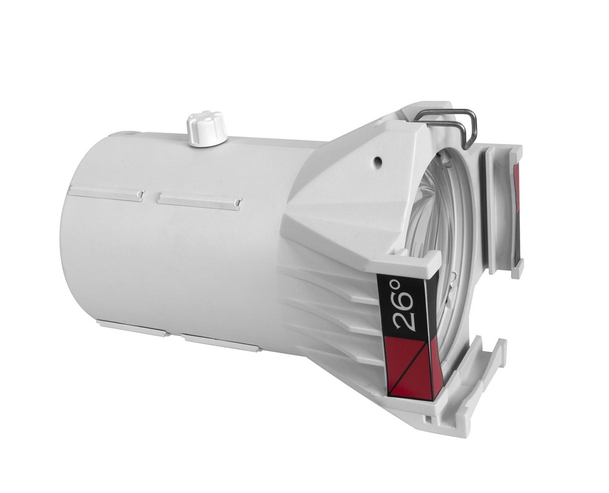 CHAUVET Professional 26 Degree Ovation Ellipsoidal HD Lens Tube (White Housing)