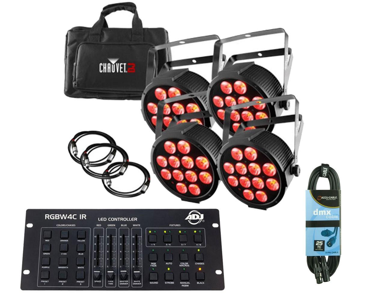 CHAUVET DJ SlimPACK Q12 USB + DMX Controller + Cable