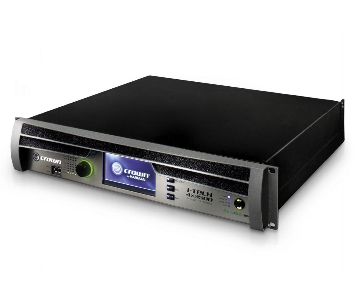 Crown Audio I-Tech 4x3500HD Power Amp SpeakOn version