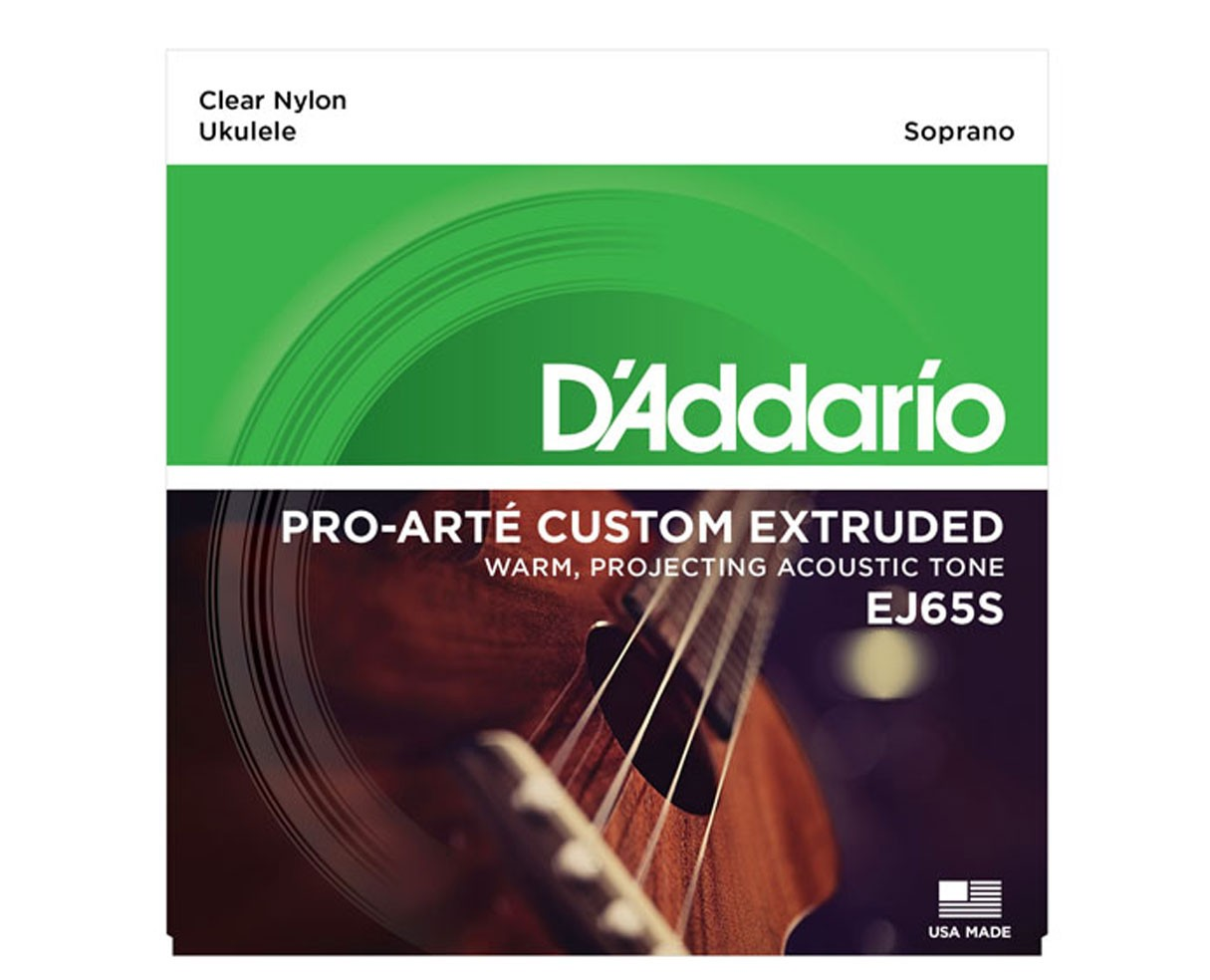 D`Addario EJ65S Pro-Arte Custom Extruded Soprano Ukulele Strings