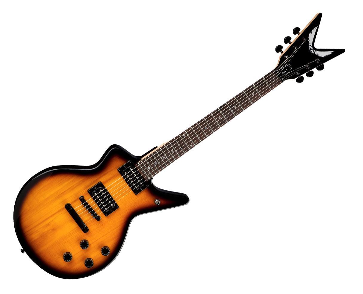 Dean Guitars Cadillac X Electric Guitar - Trans Brazilia