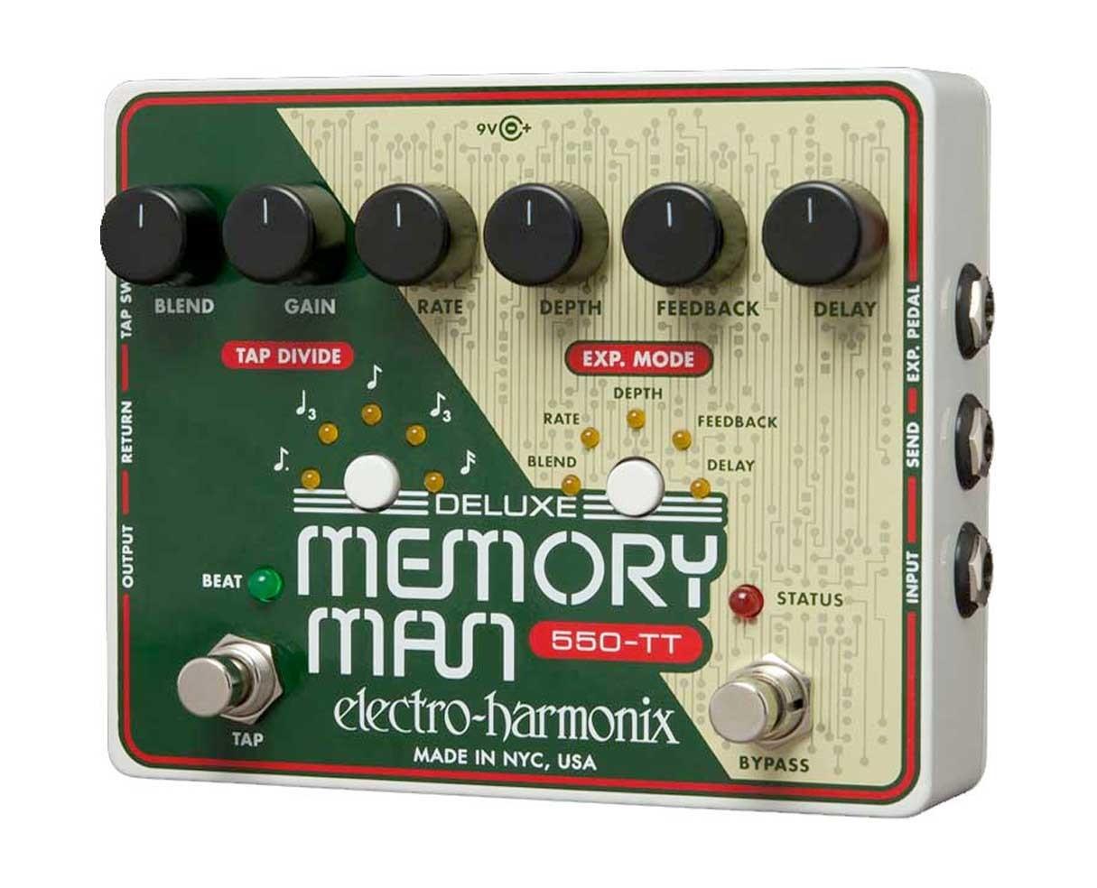 Electro Harmonix EHX Deluxe Memory Man w/ Tap Tempo 550ms