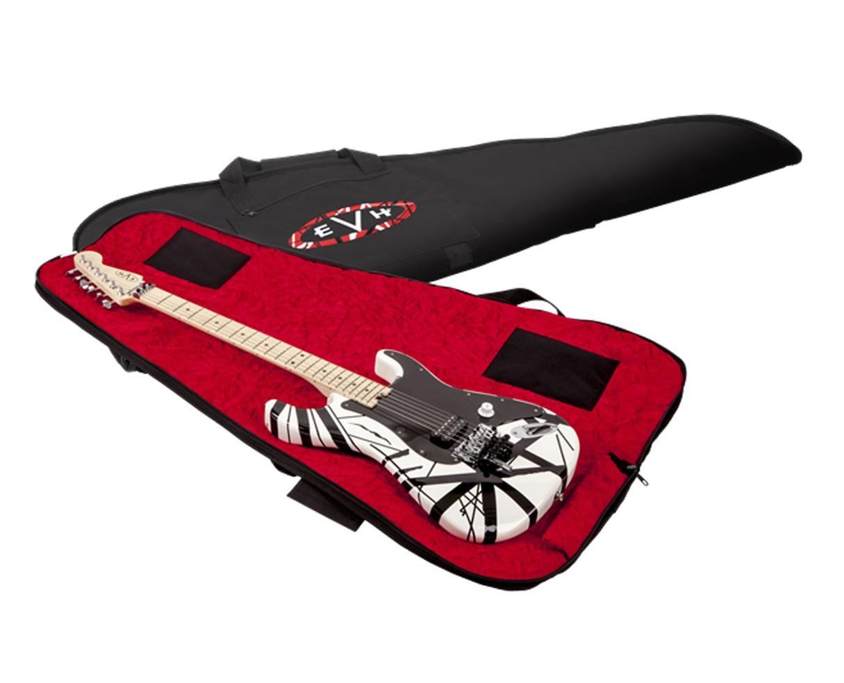 EVH GIG BAG, Black w/Red Int-w/EVH Logo