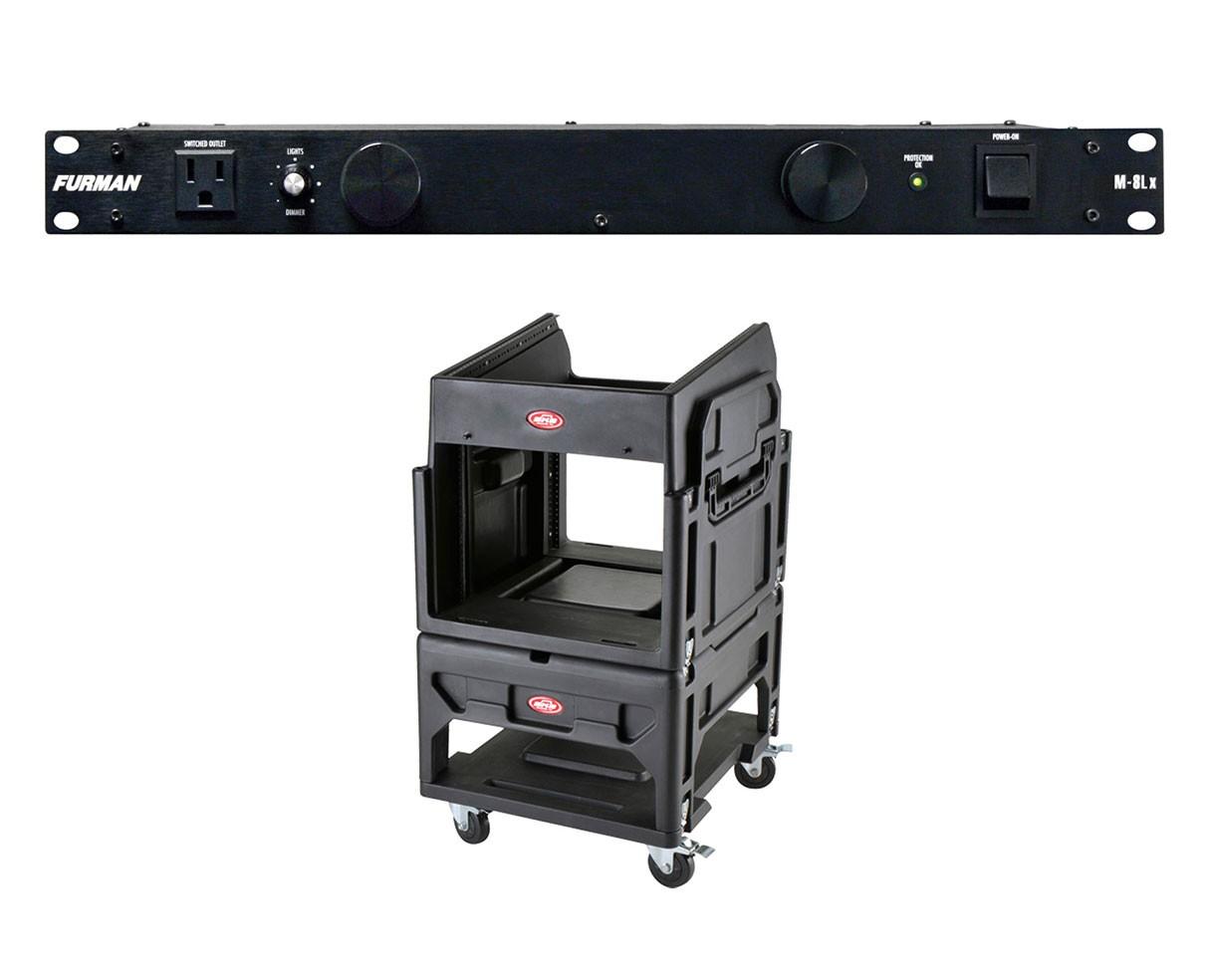 Furman M-8Lx + SKB 1SKB19-R1208