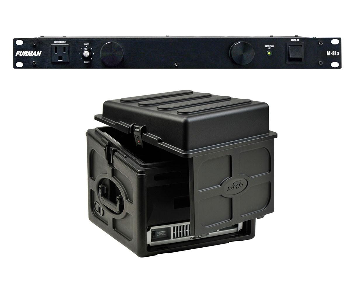 Furman M-8Lx + SKB 1SKB-R106