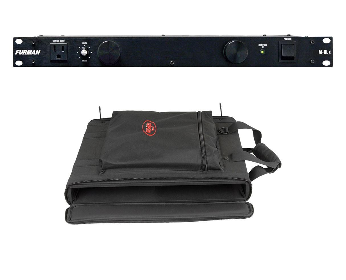 Furman M-8Lx + SKB 1SKB-SC191U