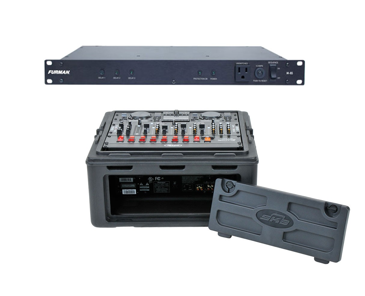 Furman M-8S + SKB 1SKB-R102