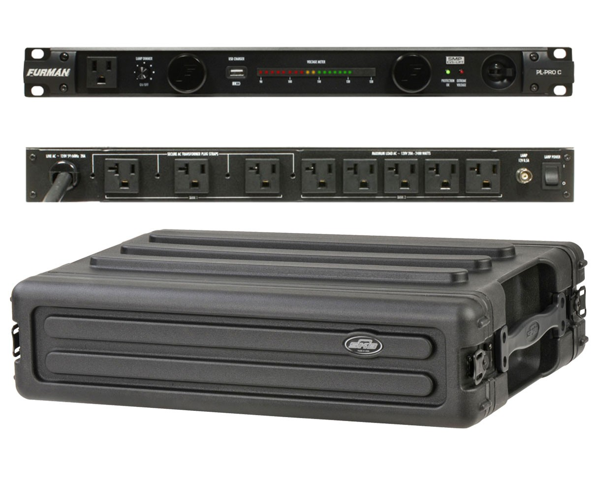Furman PL-Pro C + SKB 1SKB-R2S
