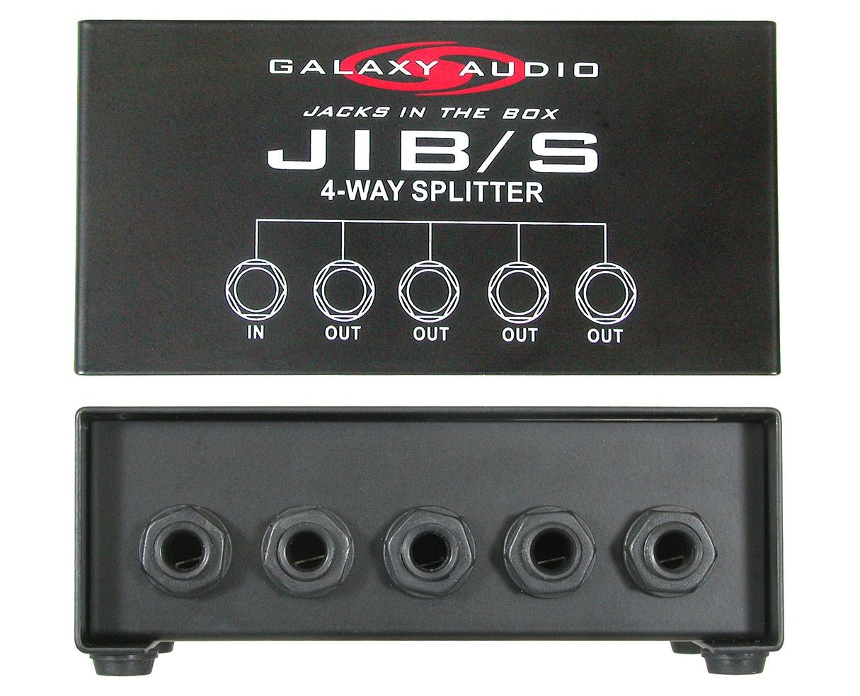 Galaxy Audio  Four Way monitor splitte