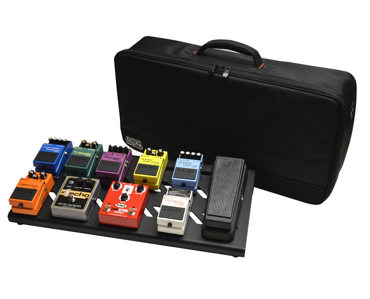 Gator Cases GPB-BAK-1 Large Aluminum Pedal Board w/ Carry Bag