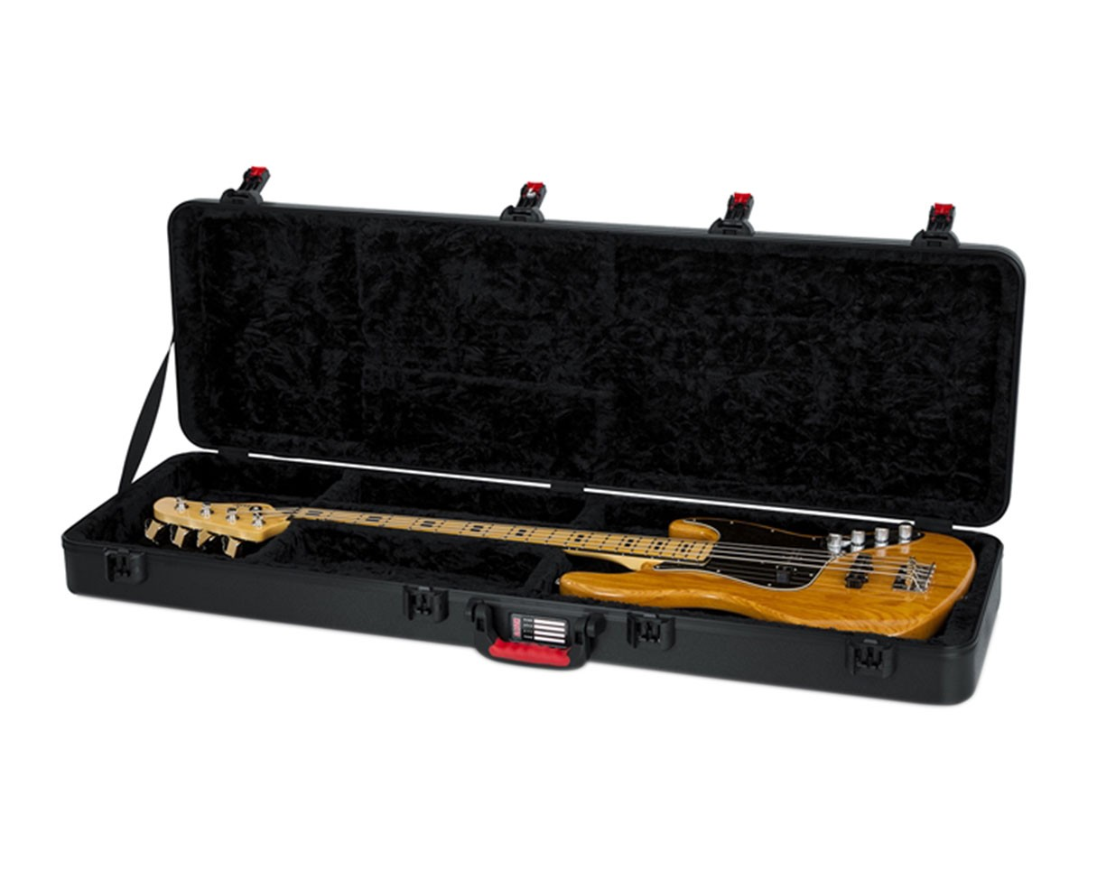 Gator TSA Series ATA Molded Polyethylene Guitar Case for Bass Guitars