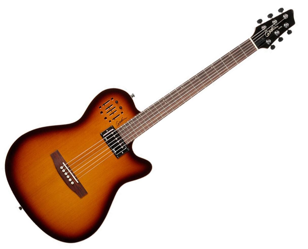 Godin Guitars A 6 ULTRA 6-String Cognac Burst HG