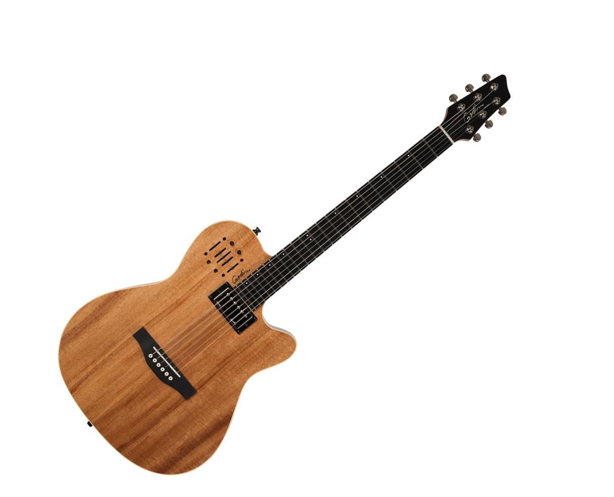 Godin Guitars A 6 ULTRA 6-String Electric Guitar in Koa HG Limited Edition