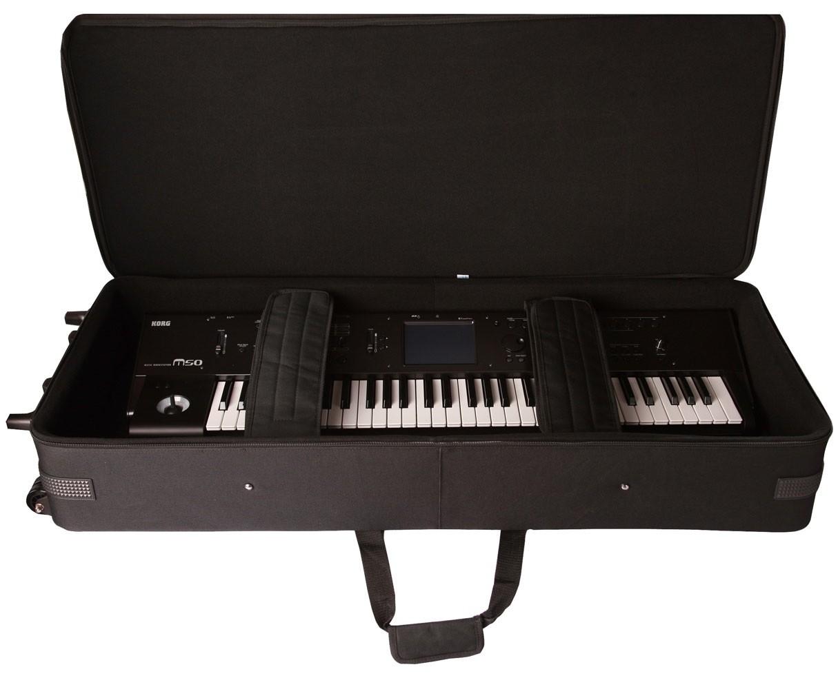 Gator GK88 Keyboard Case w/ Wheels, Extra Slim