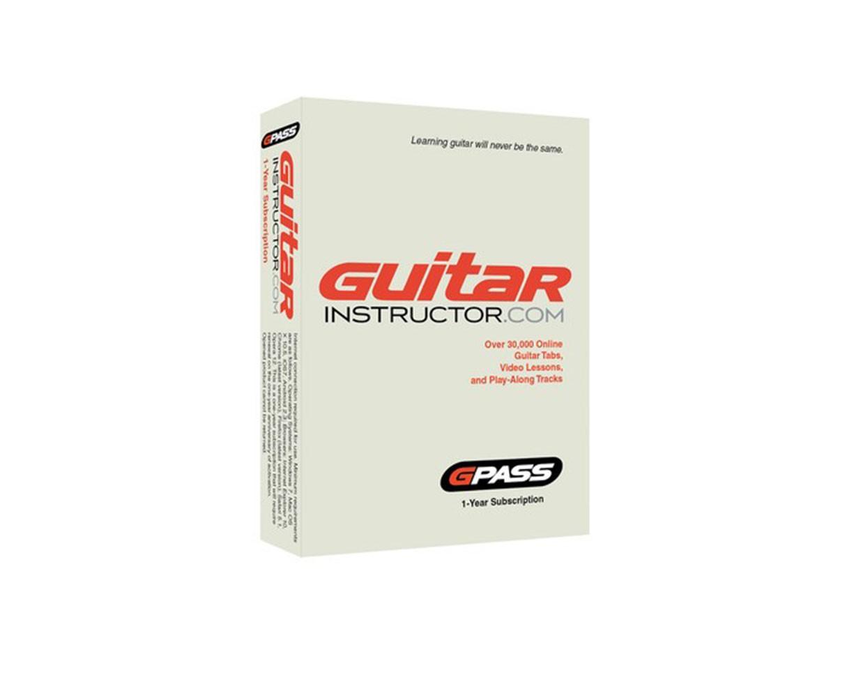 GuitarInstruct 1-Year G-Pass Subscription
