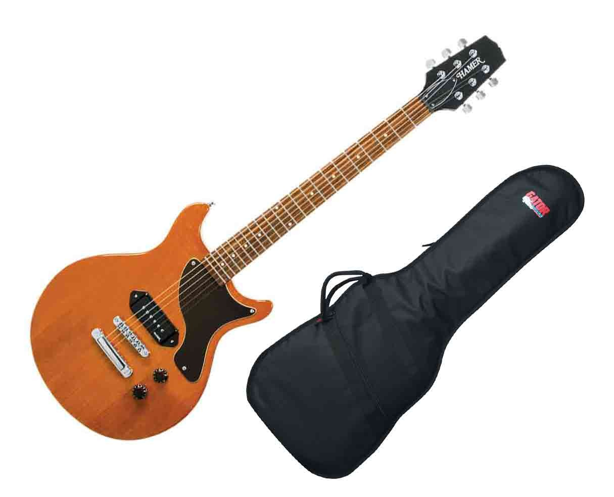 Hamer Special Jr. Electric Guitar - Natural Gloss w/Gig Bag