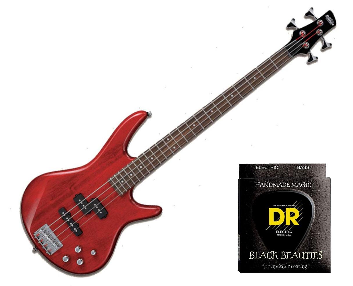 Ibanez GSR200TR w/Set DR Strings BKB45
