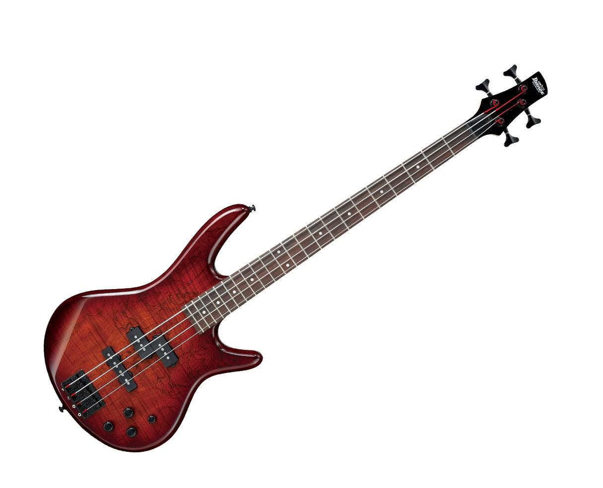 Ibanez GSR200SM Electric Bass Guitar - Charcoal Brown Burst