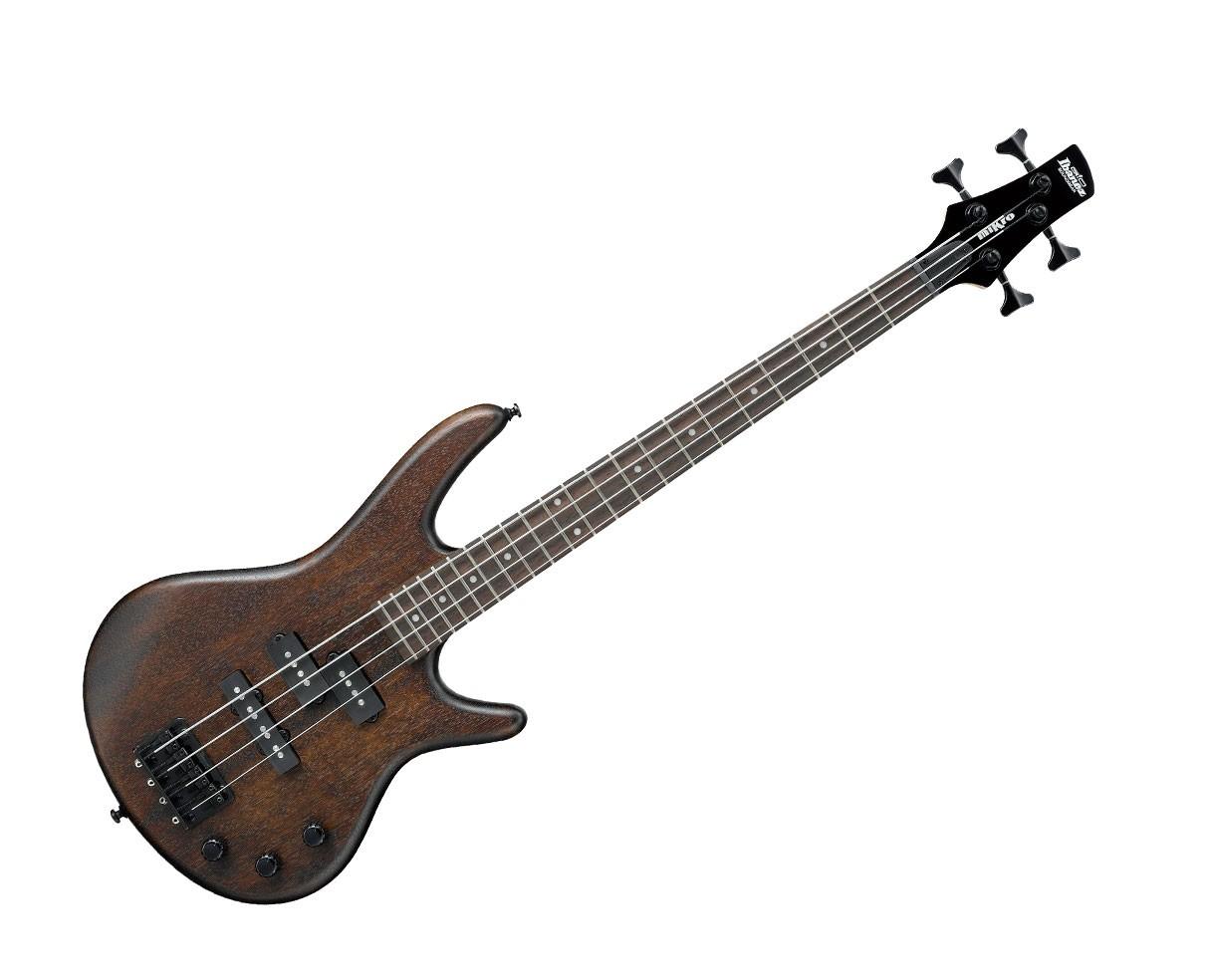 Ibanez GSRM20B Electric Bass Guitar - Walnut Flat
