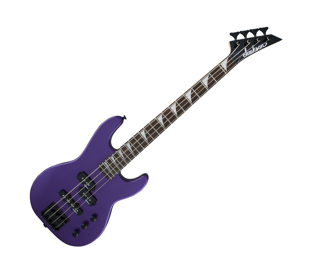 Jackson JS Series Concert Bass Minion Jackson JS1X Pavo Purple