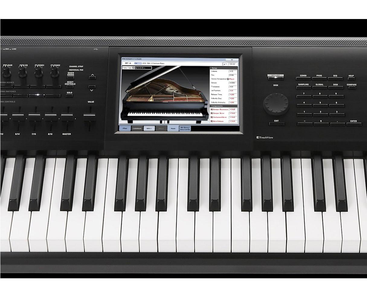korg kronos 2 61 key synthesizer workstation keyboard. Black Bedroom Furniture Sets. Home Design Ideas