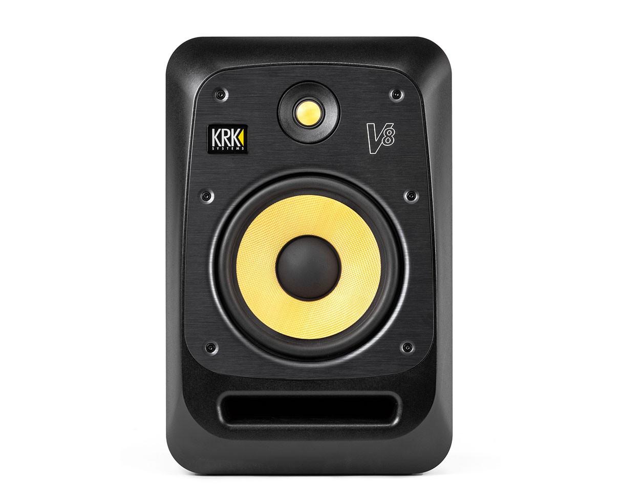 """KRK V8S4-NA - V Series 8"""" Powered Reference Monitor"""