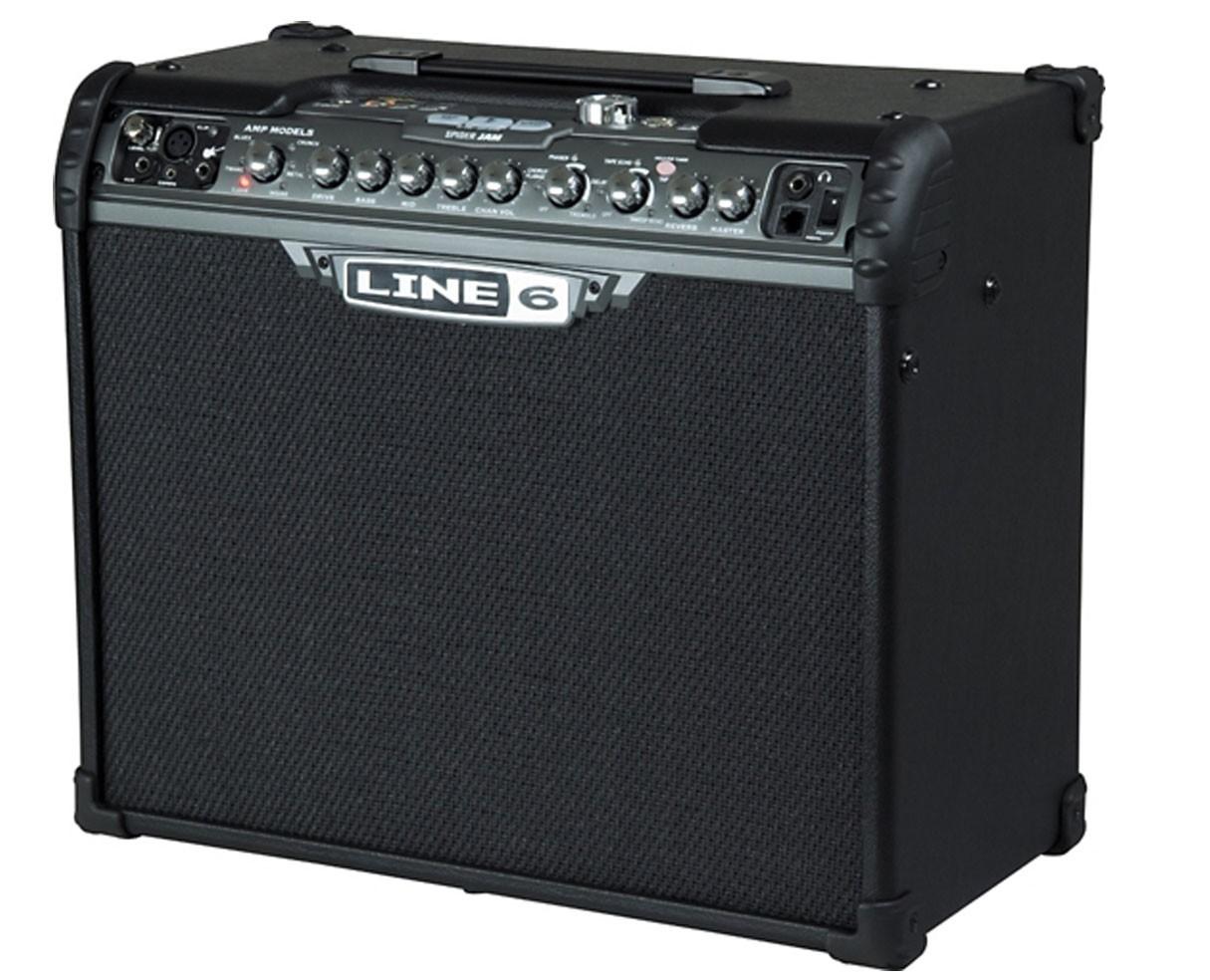 line 6 spider jam 75 watt guitar 1x12 combo amp. Black Bedroom Furniture Sets. Home Design Ideas