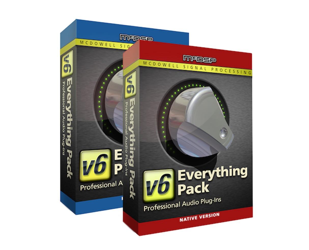 McDSP Plugins Everything Pack Nat v6.4 (Proaudiostar.com)