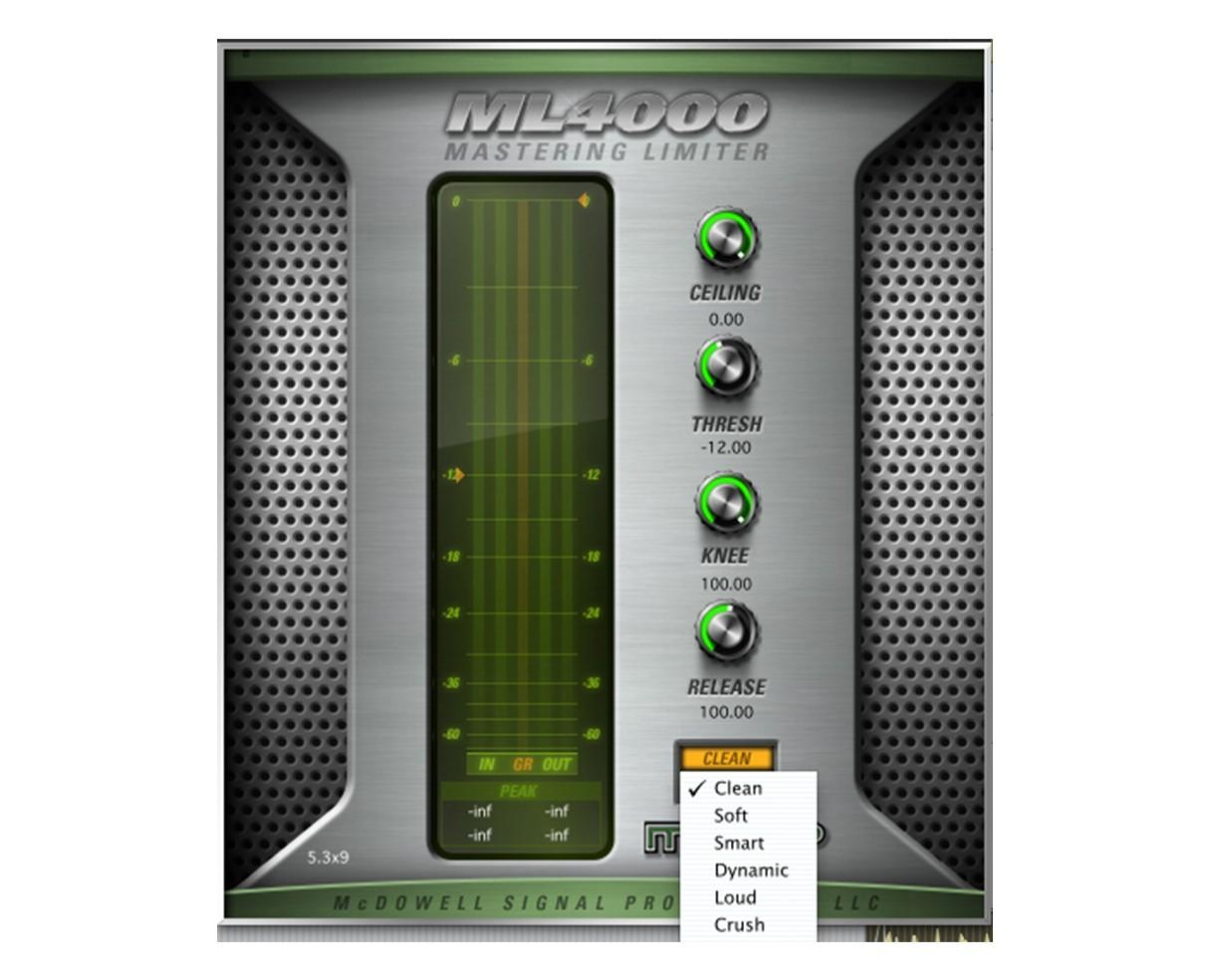 McDSP Plugins ML4000 Native v6 (ProAudioStar.com)
