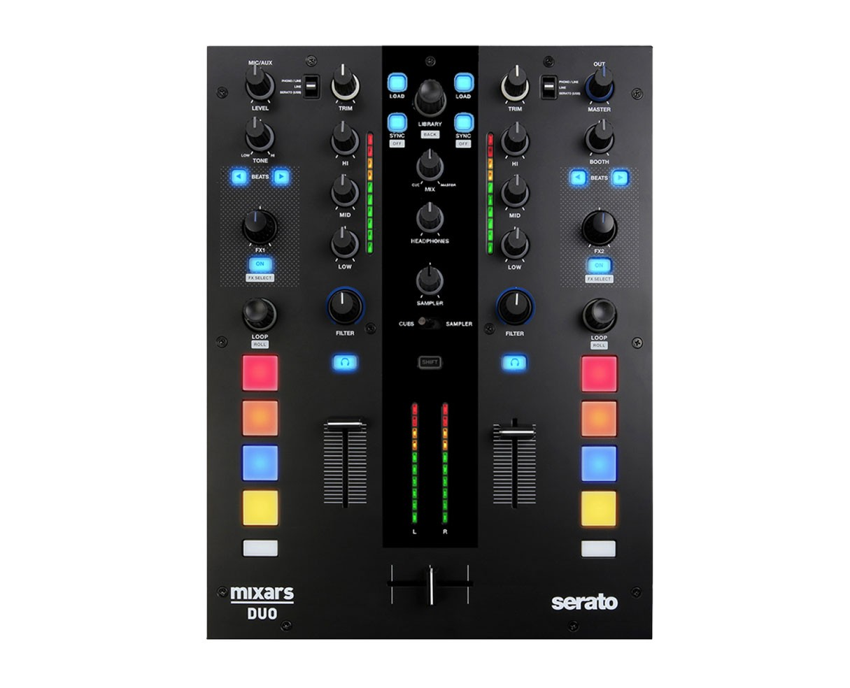 Mixars DUO Professional 2 Channel Battle Mixer for Serato DJ B-Stock